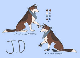 Contest Entry- Dog Design for JD by AloofFloof
