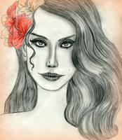 Lana Del Rey (finished) by avadaxxxkedavra