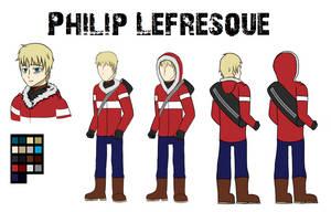 Phillip Lefresque Concept art by lightningbabe