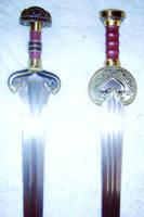Rohan Swords by phantomphreaq