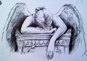 Angel Of Grief detail pt 2 by phantomphreaq