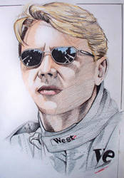 Mika Hakkinen by phantomphreaq