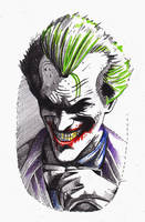 The Joker Stencil by phantomphreaq