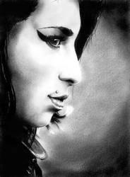 Amy Winehouse by phantomphreaq