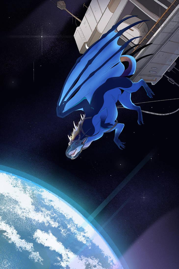 [Gato-Iberico] Space Station by teryxc