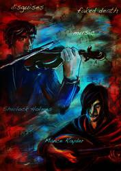 Sherlock Holmes Mance Rayder by guad