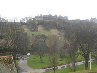 Edinburgh Castle by Keresaspa