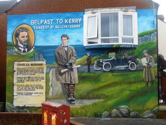 Ballykissane mural by Keresaspa