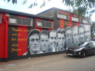 East belfast FC mural by Keresaspa