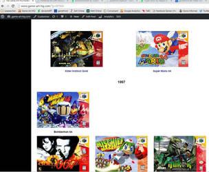 Nintendo 64 Tribute Progress Screenshot #2 by Reinhold-Hoffmann