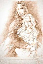 Faramir and Eowyn by cathy-chan