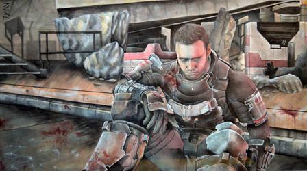 Dead Space Isaac Clarke by Juan0G
