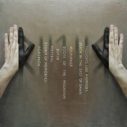 RIITIIR - Back cover with songtitles by trulsespedal