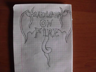Madison On Fire New Logo by FaethorFerenczy