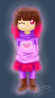 Betty - Pink Soul - Glitchtale by AishaPachia