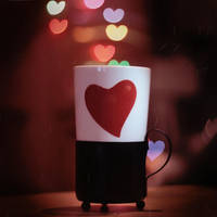 Cup Of Hearts. Colored by StacyD