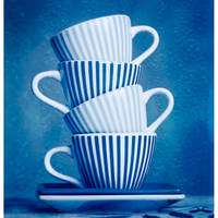Blue Cups by StacyD