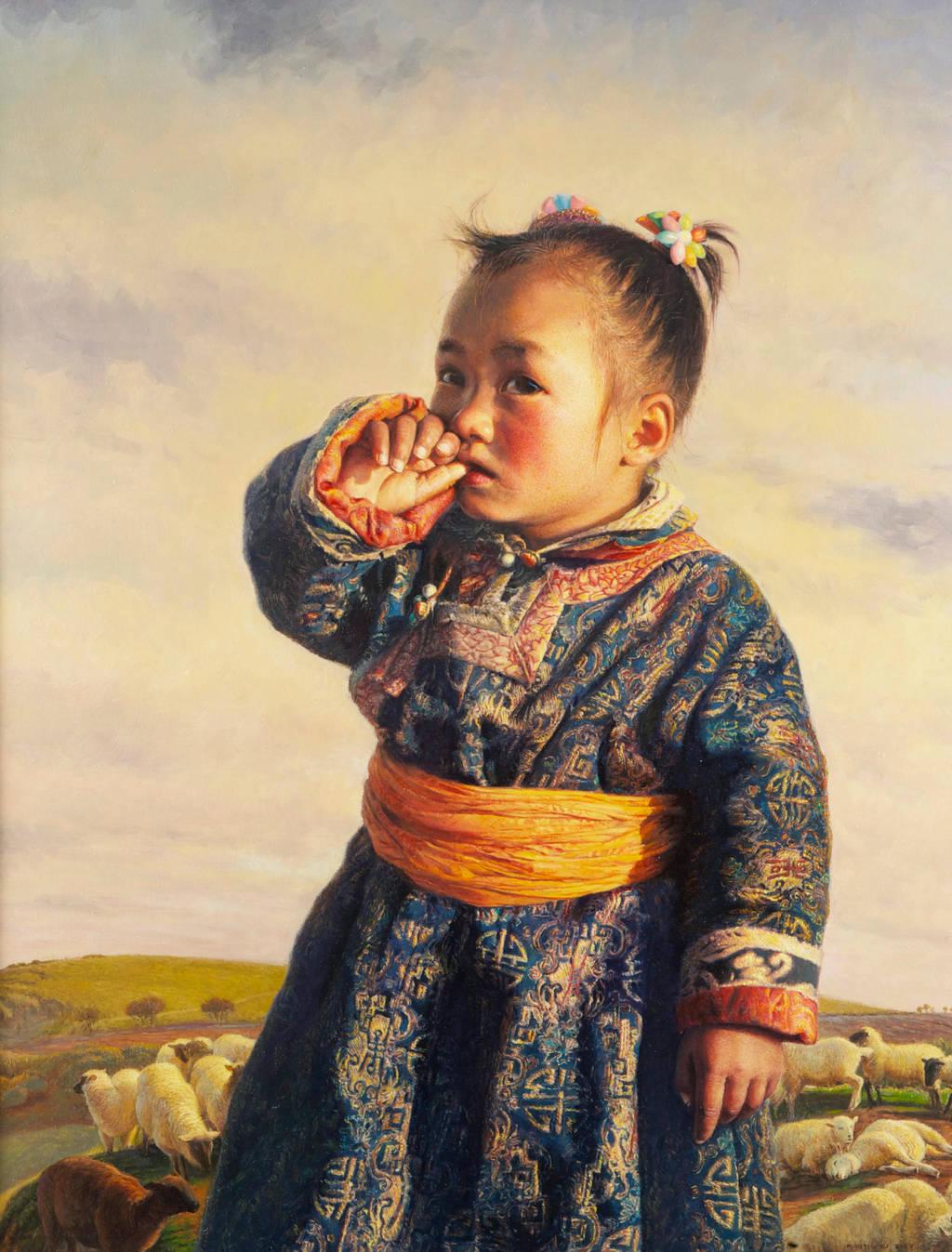 Little Shepherdess by MingYou-Xu