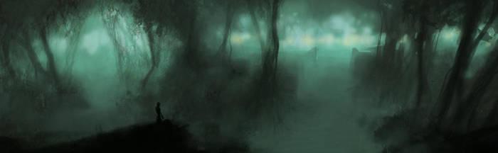 swamp observation by unwirklich