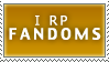 RPStamp Roleplay Fandoms by PharaohQueen