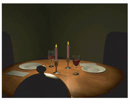 Candlelite Dinner by SethMeyer