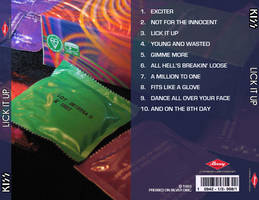 Lick It Up CD Baxk by SethMeyer
