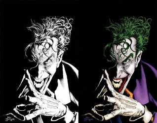 Joker coloring by SethMeyer