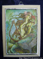 Decoupage mermaid's picture by lamu1976