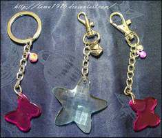 Keychan butterfly and star by lamu1976