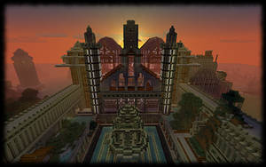 Minecraft Ashrama by anthonywinterton