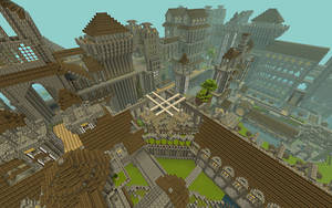 Minecraft City 2 by anthonywinterton