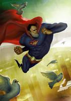 Superman by Kapsikom