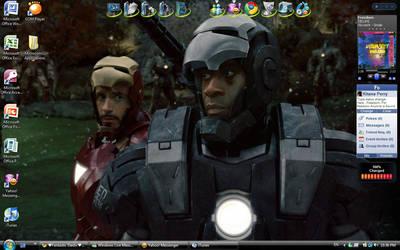 Iron Man Wallpaper by dark-uke736