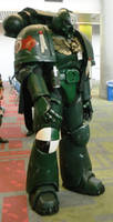 Space Marine at Fanime 2012 by Ralfskunk
