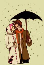 Umbrella, ella, ella, ee, ee by kiusa