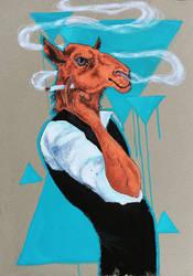 Anthropomorphism: Camel by kiusa