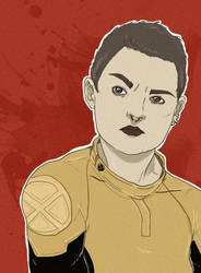 Negasonic Teenage Warhead by kiusa