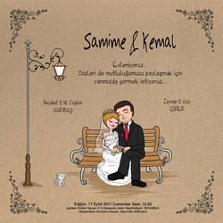 wedding invitations by ogunday