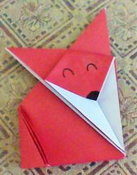 Origami Fox by MagicRain100