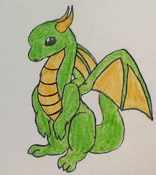 Dragon by MagicRain100