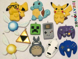 Misc Charms by Ideationox