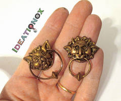 It's very rude to stare! Labyrinth Knockers by Ideationox