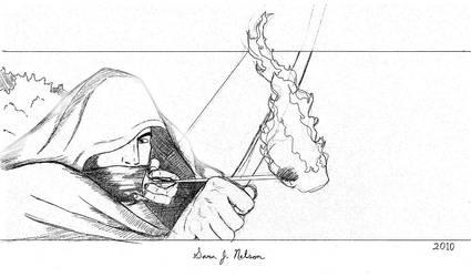 Ranger Sketch by 3Fangs