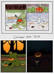 Creek Crick Halloween by 3Fangs