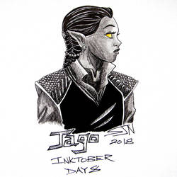 Inktober 2018 Day 8 by 3Fangs