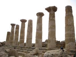 Greek Temple 04 by Olgola