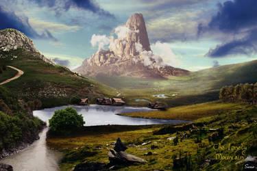 The Hobbit - The Lonely Mountain by Olgola