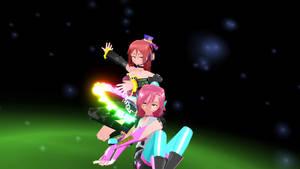 MMD Ritsu and Aika Vid+DL by Desu-Prince-Karen