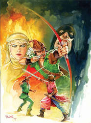 Robin Hood by Phothooth