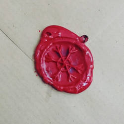 Hexelsis wax seal by Eldritch-Error